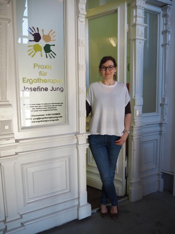 Ergotherapeutin Josefine Jung